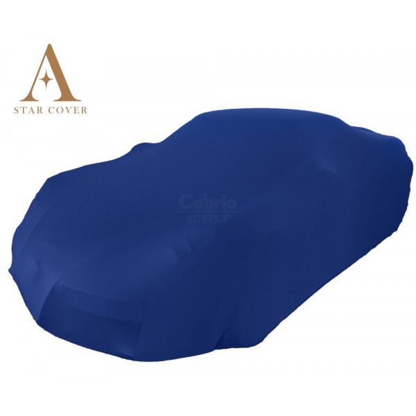 Fiat X 1/9 Indoor Cover - with Bertone emblem - blue