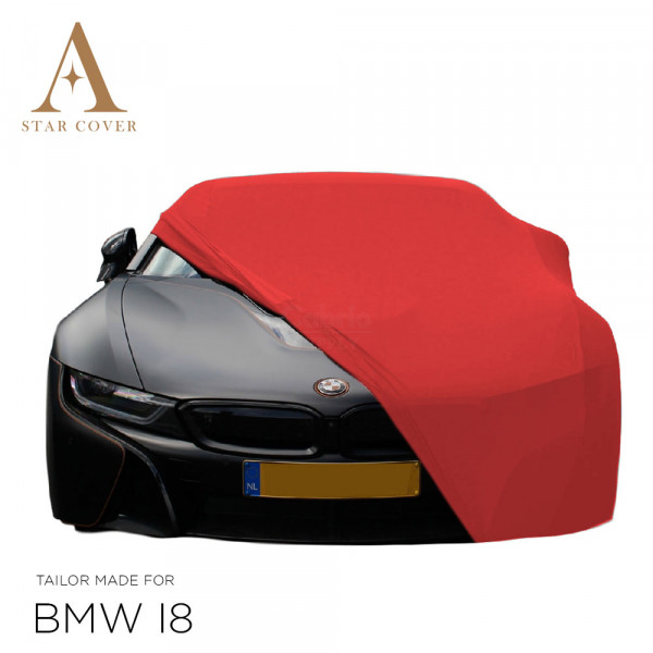 BMW i8 Roadster Indoor Car Cover - Red