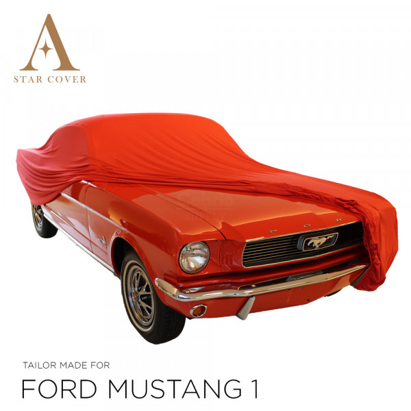 Ford Mustang Convertible Indoor Cover - Red