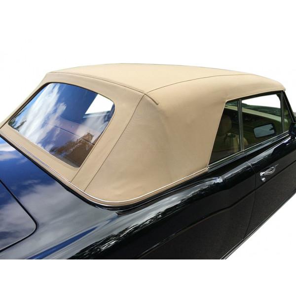 Rolls Royce Corniche PVC hood with PVC rear window 1967-1992