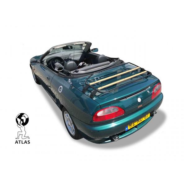 MGF & MG TF Luggage Rack - WOOD EDITION - Black 1995-2011