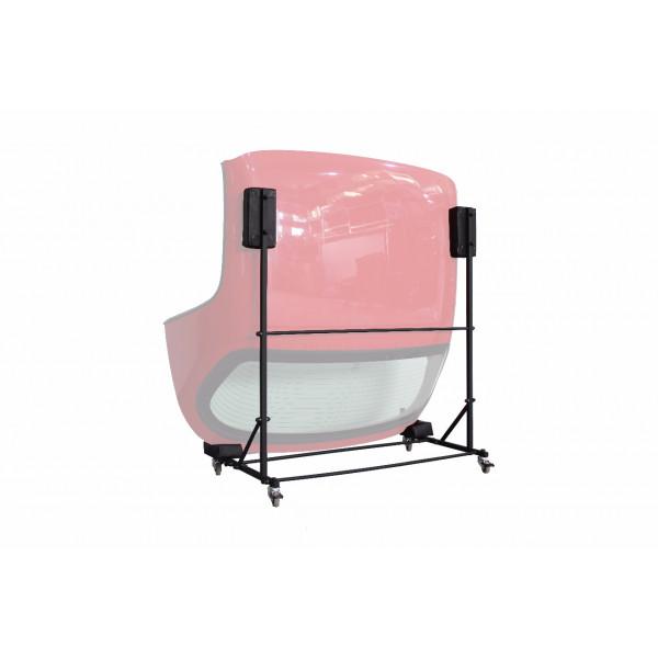 Abarth 124 Spider Hardtop Storage Cart | Dolly