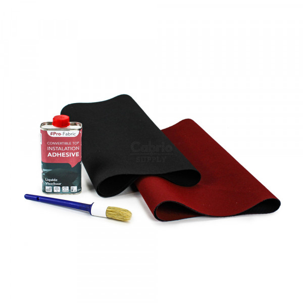Convertible top repair kit