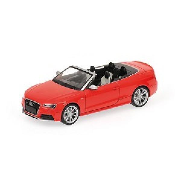 Audi RS5 Cabriolet Red 1:43 Minichamps