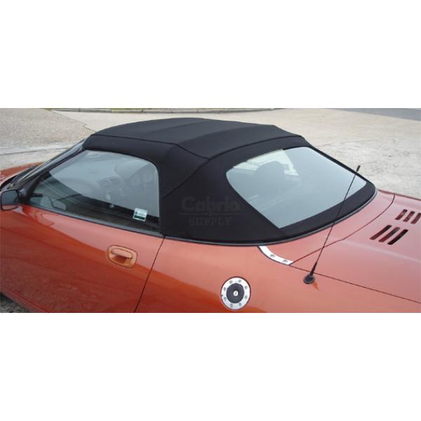 MGF / TF hood with PVC rear window 1996-1998 (4 section hood)