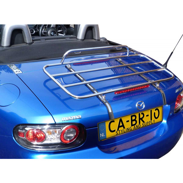 Mazda MX-5 NC (Mark 3) Roadster (Fabric Top) Luggage Rack 2005-2014