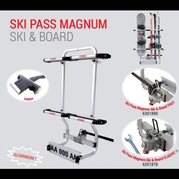 Ski Pass Magnum - Ski and Snowboard