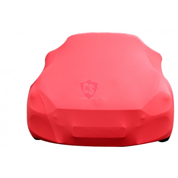 Fiat 124 Spider - Indoor Car Cover - Red