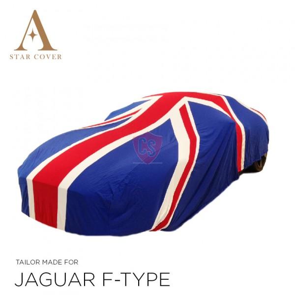 Union Jack Car Cover Vehicle Length 420 - 470 cm