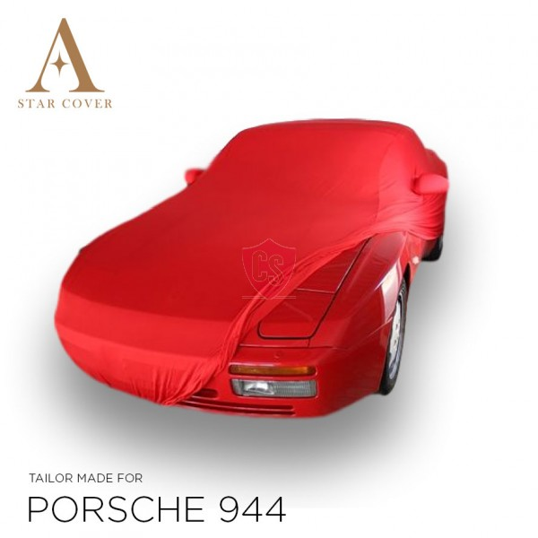 Porsche 944 & 968 Car Cover - Tailored - Mirror Pockets - Red