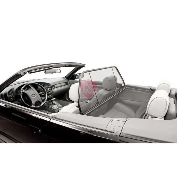 BMW 3 Series E36 Aluminium Wind Deflector - Black 1993-2000