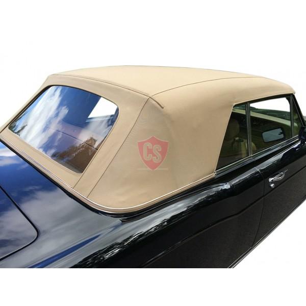 Rolls Royce Corniche fabrics hood with PVC rear window 1967-1992