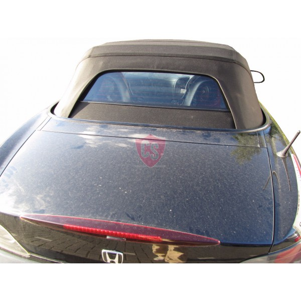 Honda S2000 mohair cabriolet hood - glass rear window 2002-2009