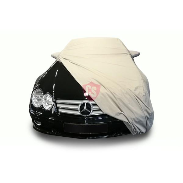 Mercedes-Benz R231 SL Outdoor Cover - Star Cover - Military Khaki - Spiegeltaschen