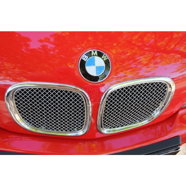 Bmw Z3 Hardtop Kitbmw Z3 Harga: BMW Z3 Roadster Front Bumper Stainless Steel Mesh Grill (2
