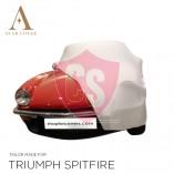 Triumph Spitfire Indoor Car Cover - White