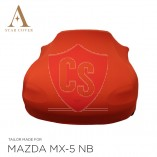 Mazda MX-5 NB Indoor Cover - Red