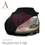 Mazda MX-5 NB Indoor Car Cover - Tailored - Black