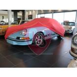 Porsche 911 F-model 1968-1974 Indoor Cover  - Red
