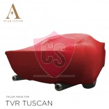 TVR Tuscan Convertible Indoor Cover  - Red