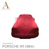 Porsche 911 964 1989-1994 Indoor Cover  - Red
