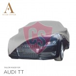 Audi TT 8J Roadster Indoor Car Cover - Tailored - Silvergrey