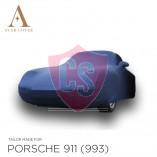 Porsche 911 993 1993-1998 Cover  - Blue - Mirror Pockets