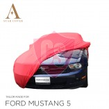 Ford Mustang 5 2005-2014 Indoor Cover - Red
