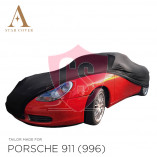 Porsche 911 996 1998-2004 without Aerokit Cover  - Black