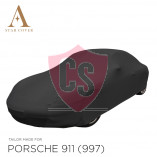 Porsche 911 997 2005-2011 without Aerokit Cover  - Black