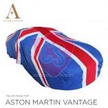 Aston Martin Vantage Roadster Indoor Cover  - Union Jack