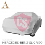 Mercedes-Benz SLK R170 Indoor Car Cover - Tailored - Mirror Pockets - Grey