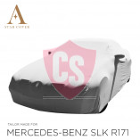 Mercedes-Benz SLK R171 Indoor Car Cover - Tailored - Mirror Pockets - Grey