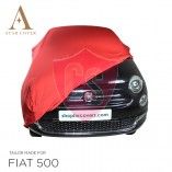 Fiat 500 500C - Indoor Car Cover - Red