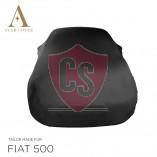 Fiat 500 500C - Indoor Car Cover - Black