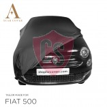 Fiat 500 500C - Indoor Car Cover - Black
