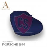 Porsche 944 & 968 Blue indoor carcover with mirror pockets