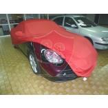 Porsche Boxster 986 Cover - Mirror pockets - Red