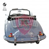 Porsche 356 A B C Luggage Rack Leitz Style - Chrome