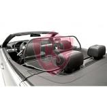 BMW 3 Series E46 Aluminium Wind Deflector - Black 2000-2006