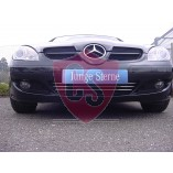 Mercedes-Benz SLK171 stainless steel grill in Aston Martin look (1 piece) 2004-2008