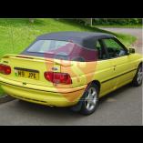 Ford Escort Mk5 & Mk6 PVC cabriolet hood 1992-1998