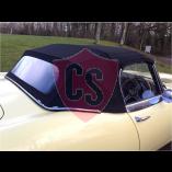 Jaguar E-Type S2 mohair cabriolet hood 1969-1971