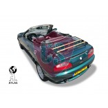 MGF & MG TF Luggage Rack - WOOD EDITION - Black 1995-2011