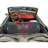 Triumph TR4 & TR6 Wind Deflector - Black 1961-1976