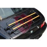 BMW Z3 Roadster Luggage Rack - LIMITED WOOD EDITION | 1996-1999 | Black