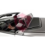 Mercedes-Benz SL-Class R129 Aluminium Wind Deflector - Black 1989-2001