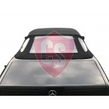 Mercedes-Benz R129 mohair hood with PVC rear window 1989-2002