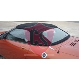 MGF / TF hood with PVC rear window 1996-1998 (4 section hood)