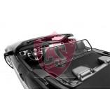 Ford Mustang 5 Aluminium Wind Deflector - Black 2005-2014